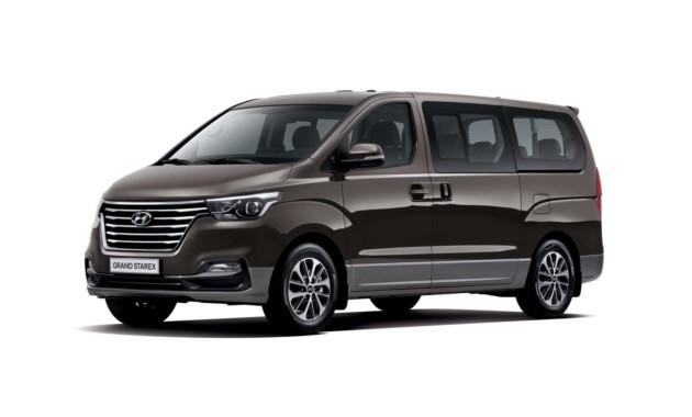 Был презентован новый минивэн Hyundai H-1