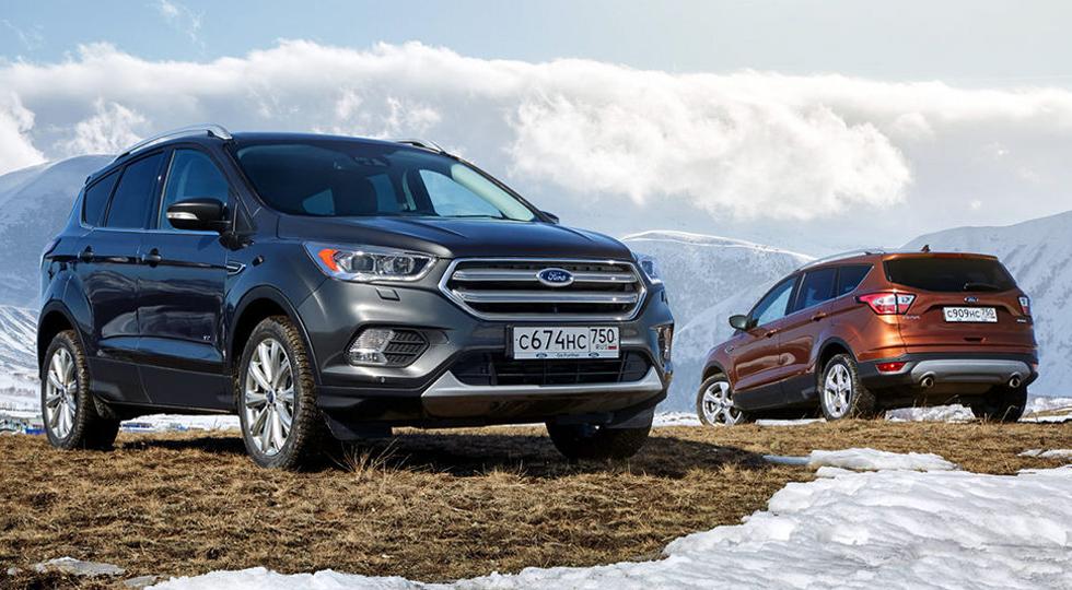 Доля автомобилей сегмента SUV от Ford в России увеличена