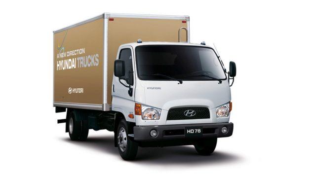 Hyundai HD78 российского производства уже стали отправлять на экспорт