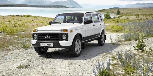 «АвтоВАЗ» начал продажи в Германии 5-дверной Lada 4x4