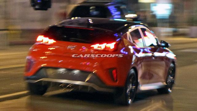 Рассекречен дизайн нового хэтчбека Hyundai Veloster