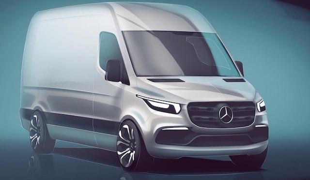 Benz продемонстрировал приборную панель нового Sprinter