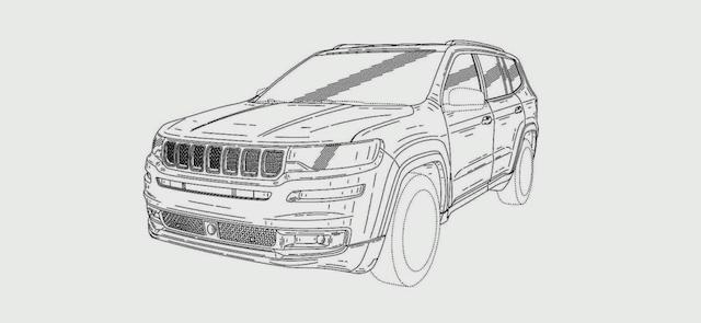 Jeep запатентовал название для своего нового 7-местного внедорожника