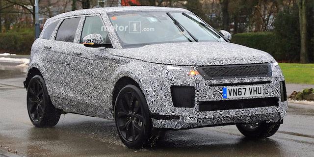 Новый Range Rover Evoque выехал натесты