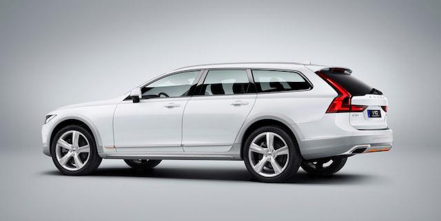 Volvo назвала цены на спецверсию V90 Cross Country для России