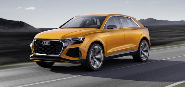 Объявлена дата выхода в продажу в РФ нового Audi Q8