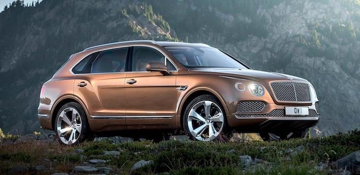 В 2018 году кроссовер Bentley Bentayga получит бензиновый V8