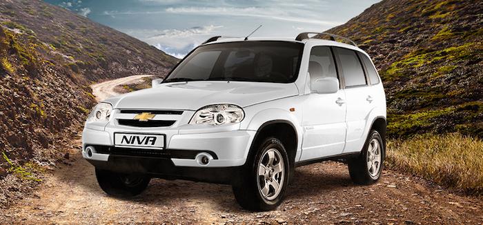 С 1 января 2018 года Chevrolet Niva подорожает снова