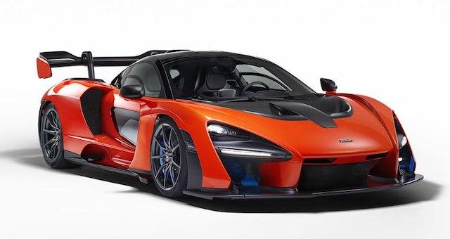 Новый дорожный спорткар Мак Ларен получит название Senna