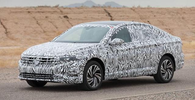 Представлен официальный тизер нового Volkswagen Jetta 2018