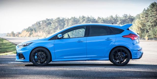 Очевидцы засняли на видео процесс утилизации Ford Focus RS