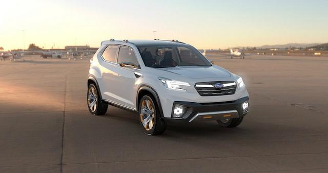 Названа дата премьеры нового поколения Subaru Forester