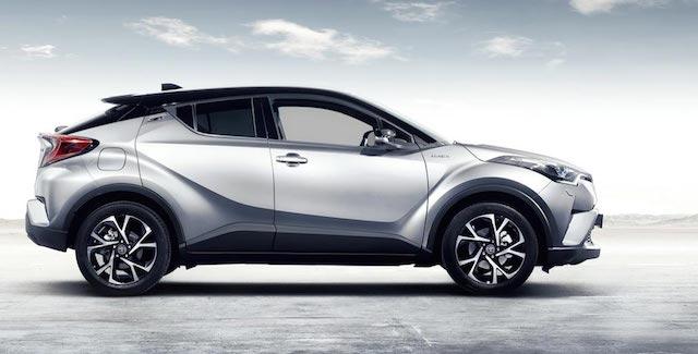 Тойота выпустит новый кроссовер к 2020-ому году