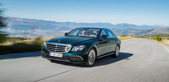 Mercedes-Benz отзывает в России почти 100 автомобилей E-Class