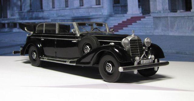 Парадный Mercedes Адольфа Гитлера продадут на аукционе