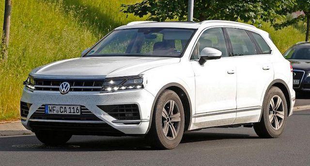 Новый Volkswagen Touareq представят в апреле 2018 года