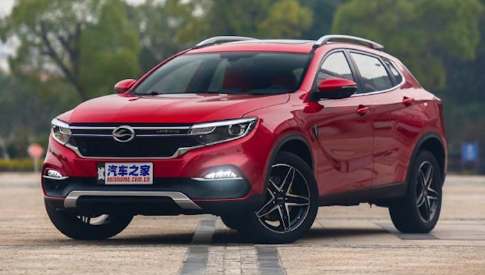 Китайцы выпустили нарынок клон Мерседес Бенс GLA