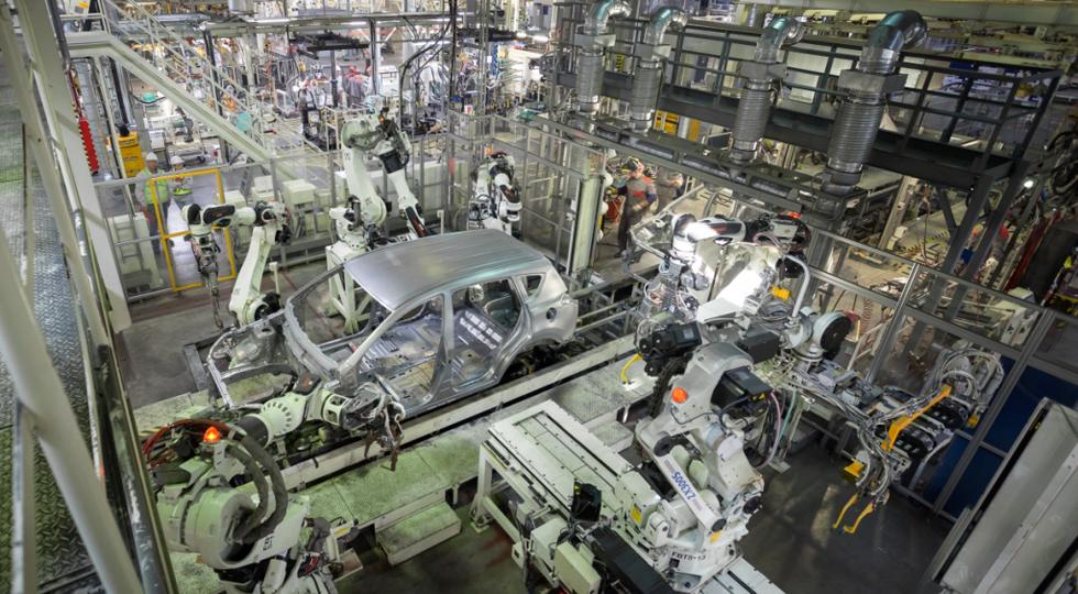 Производство машин вПетербурге загод выросло практически начетверть