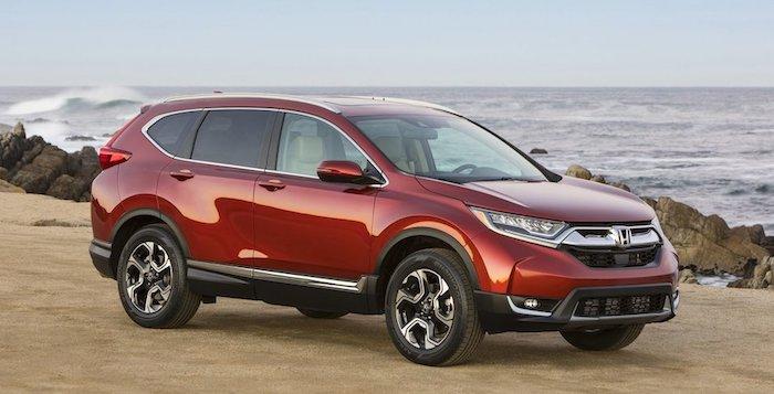 Хонда объявила новые цены накроссовер CR-V