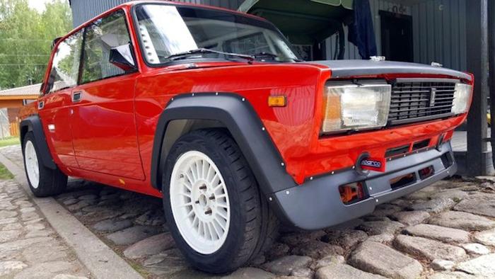 В Эстонии продают редкую Lada VFTS по цене в 680 тысяч рублей