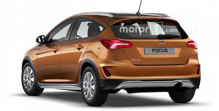 Опубликован рендер кросс-версии универсала Ford Focus