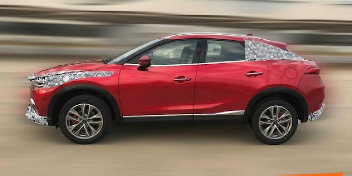 Китайская Zotye вывела натесты копию кросс-купе Мазда  CX-4
