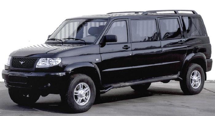 УАЗ «Патриот» планировалось превратить в лимузин