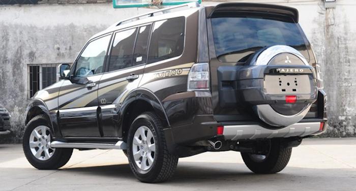 Mitsubishi Pajero обзавелся юбилейной версией