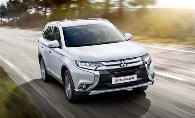 В России появятся новые модификации Mitsubishi Outlander
