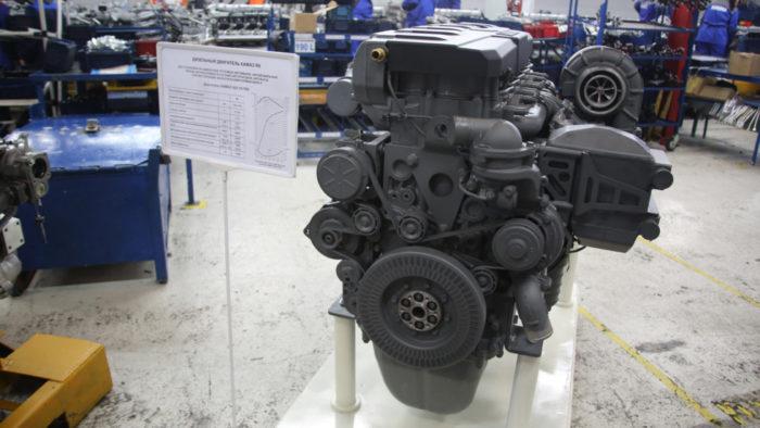 КАМАЗ готовится к серийному производству двигателей Р6