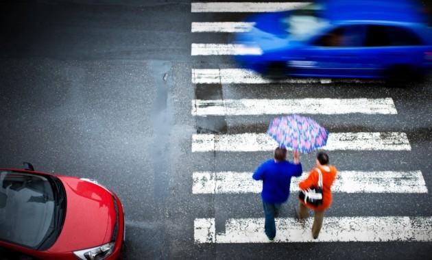 В России увеличилось количество ДТП с участием пешеходов