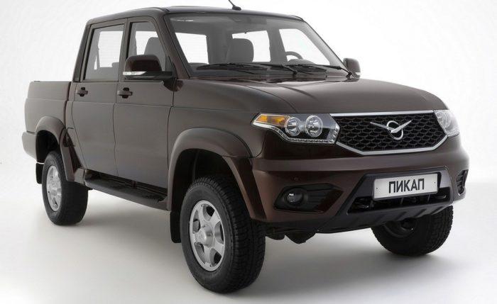 В 2017г УАЗ Pickup стал самым продаваемым автомобилем всвоем классе