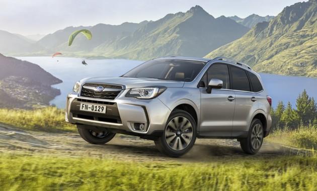 Известна самая популярная модель Subaru в России