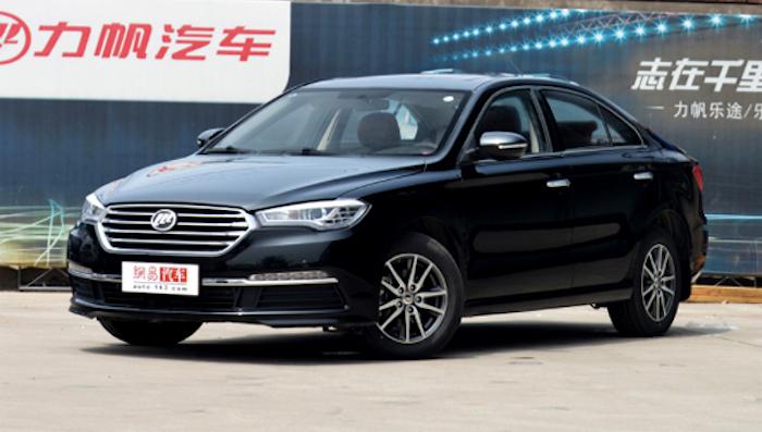 Lifan обновил конкурента Toyota Camry