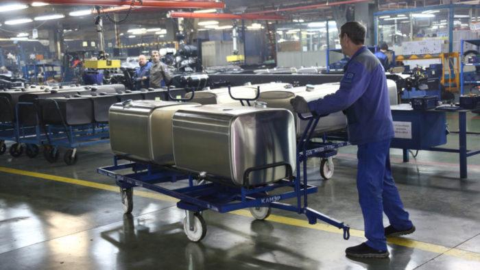Выпуск алюминиевых баков скоро будет начат компанией КАМАЗ