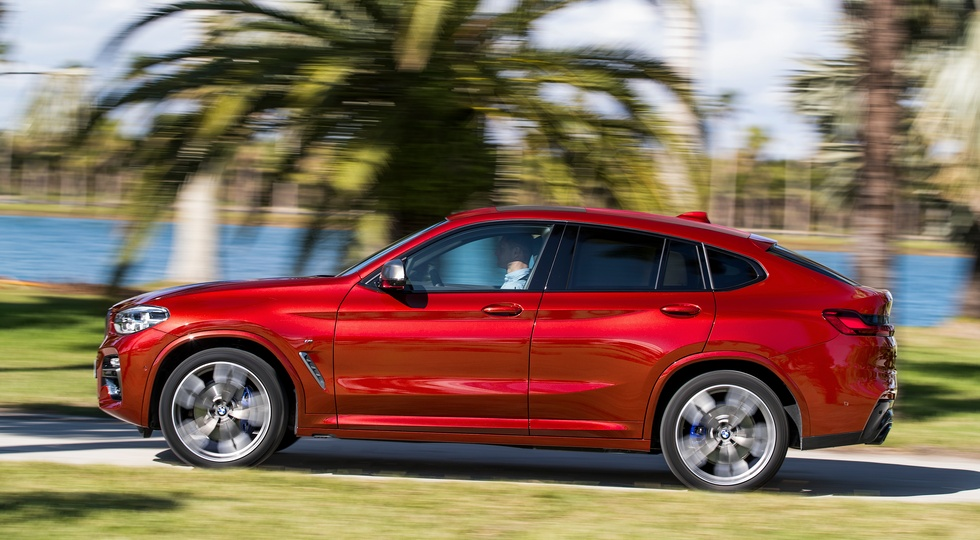 BMW X4 представили официально
