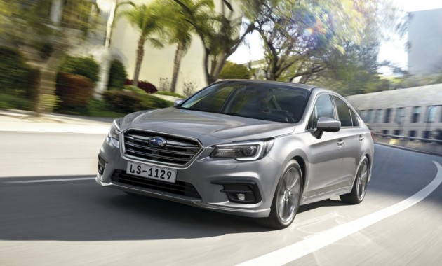 Раскрыты подробности российской версии Subaru Legacy