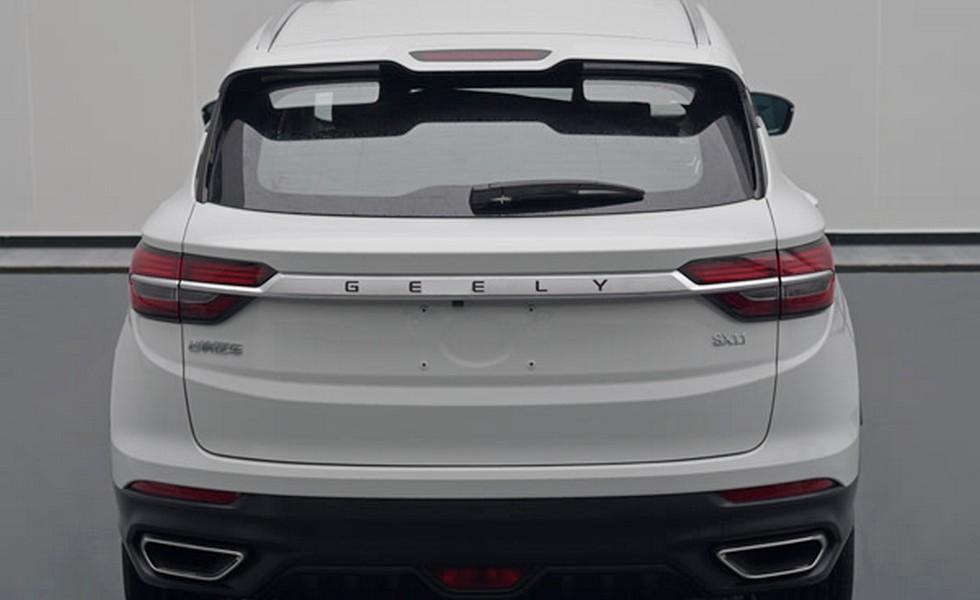 Рассекречен новый автомобиль бренда Geely