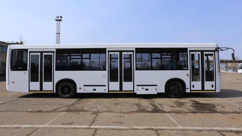 КАМАЗ отправил свои газовые автобусы в Вологду