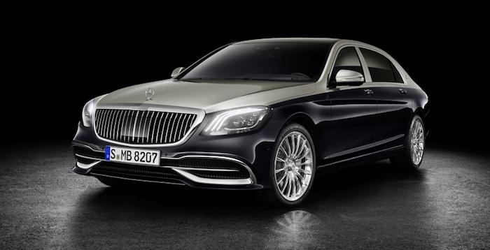 Mercedes представил обновленный седан Maybach S-Class