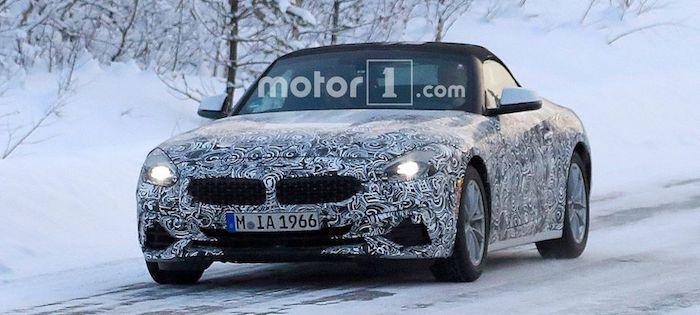 Опубликованы рендеры нового BMW Z4