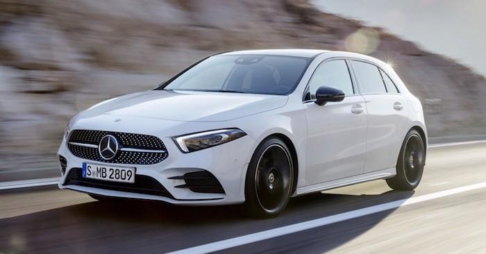 Хэтчбек Mercedes A Class нового поколения представлен официально