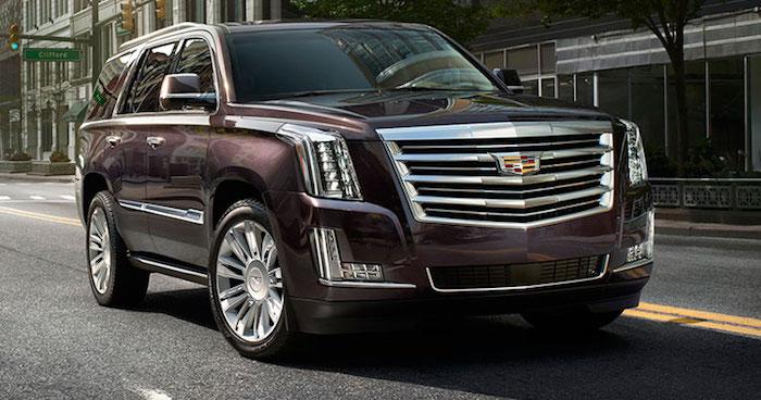 В России стартовали продажи обновленного Cadillac Escalade