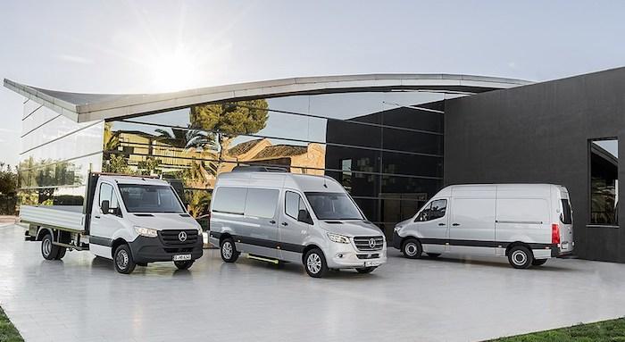 Mercedes-Benz представил новое поколение Sprinter