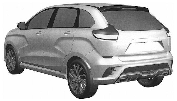 «АвтоВАЗ» запатентовал спорт-версию хэтчбека Lada XRay