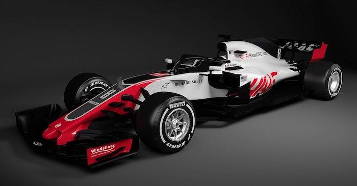 Команда Формулы 1 Haas показала новый болид VF-18 Ferrari