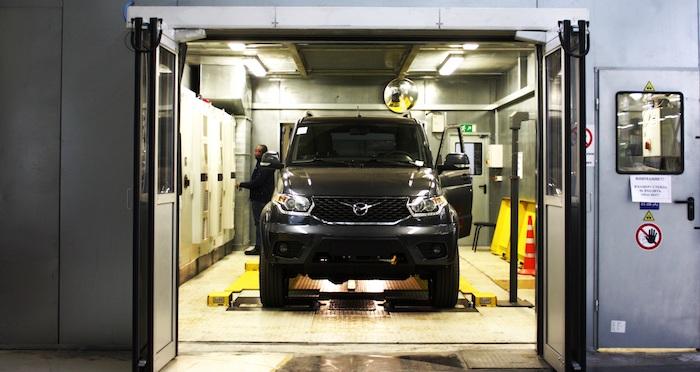 НаУАЗе установили новое оборудование для исследования авто