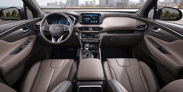 Hyundai Santa Fe 2019: опубликованы новые официальные фото кузова и салона