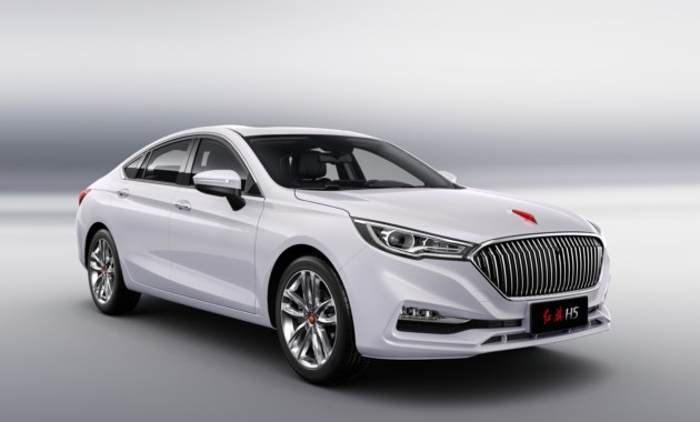 Объявлены цены нановый седан Hongqi H5 набазе Mazda6