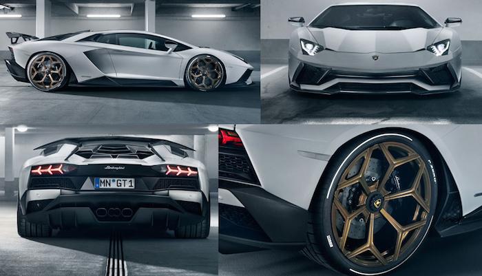 Компания Novitec прокачала Lamborghini Aventador